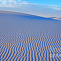 White Sand Patterns New Mexico by Bob Christopher