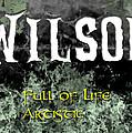 Wilson - Full Of Life Artistic by Christopher Gaston
