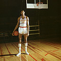 Wilt Chamberlain Stands Tall by Retro Images Archive