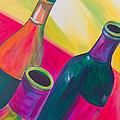 Wine Bottles by Debi Starr