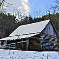 Winter Barn by Susan Leggett