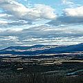 Winter Shenandoah River View by Lara Ellis