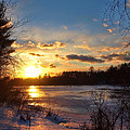 Winter Sundown by Joann Vitali