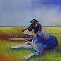 Working Man's Dog by Sandra Sengstock-Miller