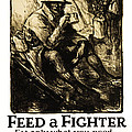 World War 1 - U. S. War Poster by Daniel Hagerman