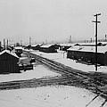 World War II, Winter Storm, Manzanar by Everett