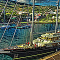 Yacht In Papeete