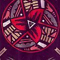 Native American Designs In The Round by Anne-Elizabeth Whiteway