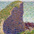 Study For Le Bec Du Hoc by Georges Pierre Seurat