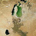 Aral Sea by NASA / Science Source