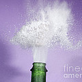 Champagne Cork Popping by Ted Kinsman