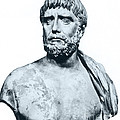 Thales, Ancient Greek Philosopher by Photo Researchers