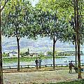 The Avenue Of Chestnut Trees by Alfred Sisley