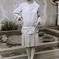 1927 Suit With A Mid-knee Pleated Skirt by Everett