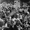 1963 March On Washington. Close-up by Everett