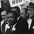 1963 March On Washington. Martin Luther by Everett