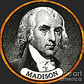 James Madison, 4th American President by Photo Researchers