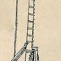 Leonardo Da Vincis Lifting Gear by Science Source