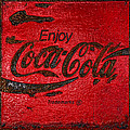 Coca Cola Classic Vintage Rusty Sign by John Stephens