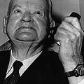 Former President Herbert Hoover by Everett