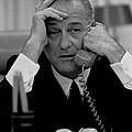 President Lyndon Johnson by Everett