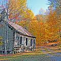 Abandoned Church by Alan Lenk