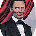 Abraham Lincoln, Republican Candidate by Photo Researchers