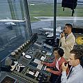 Air Traffic Controllers Direct Traffic by David Boyer