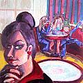 Alice Trippin' In Wonderland by Hannah Chusid
