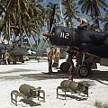 American Ground Crews Prepare Marine by W. Robert Moore
