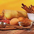 Baking Ingredients by Sandra Cunningham