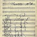 Beethoven Manuscript, 1799 by Granger