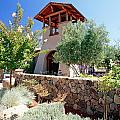 Bell Tower Of St Francis Winery by George Oze