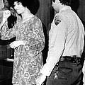 Black Militant Angela Davis Gives by Everett