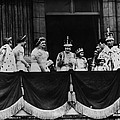 British Royal Family. From Center, L-r by Everett