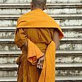 Buddhist Monk 2 by Bob Christopher