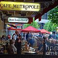 Cafe Metropole by Andrea Simon