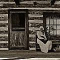 Canadian Gothic Sepia by Steve Harrington