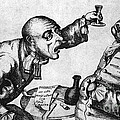 Caricature Of Two Alcoholics, 1773 by Science Source