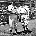 Carl Hubbell & Vernon Lefty Gomez by Everett