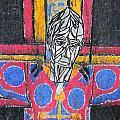 Catalan Jesus by Marwan George Khoury