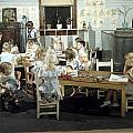 Children Play In A Day Nursery by J Baylor Roberts