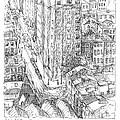 City Scape by Elizabeth Carrozza
