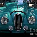 Classic Green Jaguar . 40d9411 by Wingsdomain Art and Photography