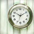 Clock On The Wall by Sandra Cunningham
