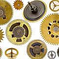 Cogwheels - Gears by Michal Boubin