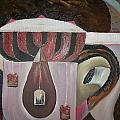 Components Of Tea by Nada Al-Ghussain