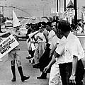 Counter Demonstrators Against Open by Everett