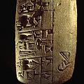 Cuneiform Writing Describes Commodities by Lynn Abercrombie