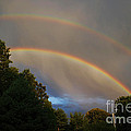 Double Rainbow by Science Source
